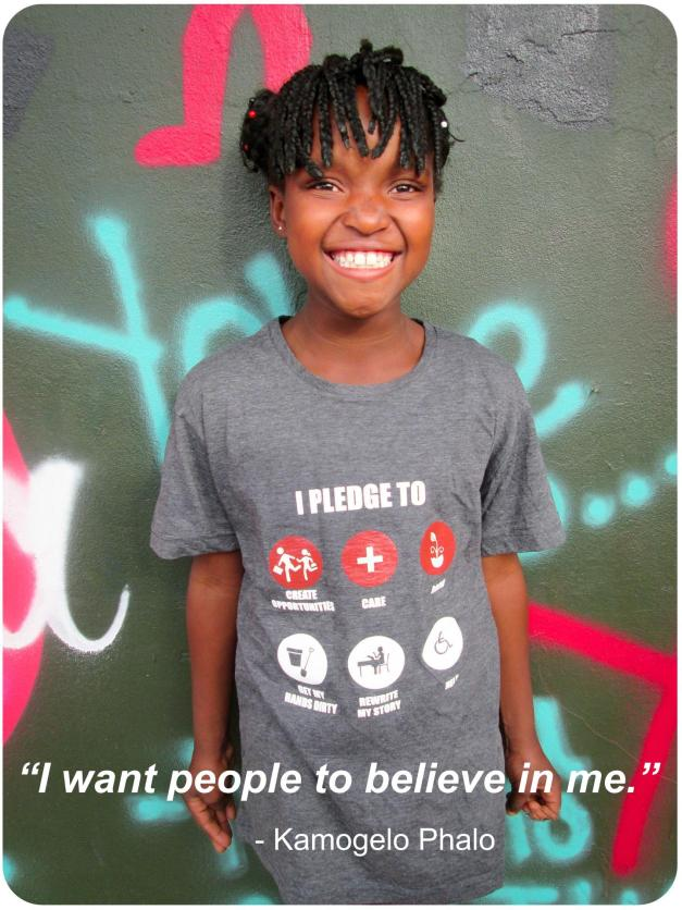 I Want People to Believe in Me